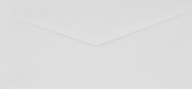 Détail du courrier enveloppe blanche - fond