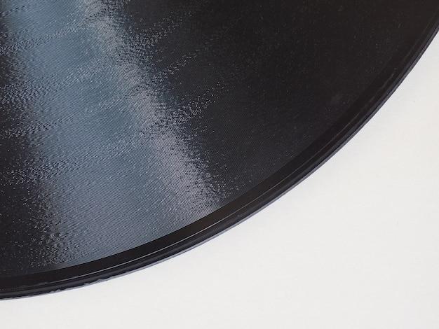 Détail du disque vinyle avec espace de copie