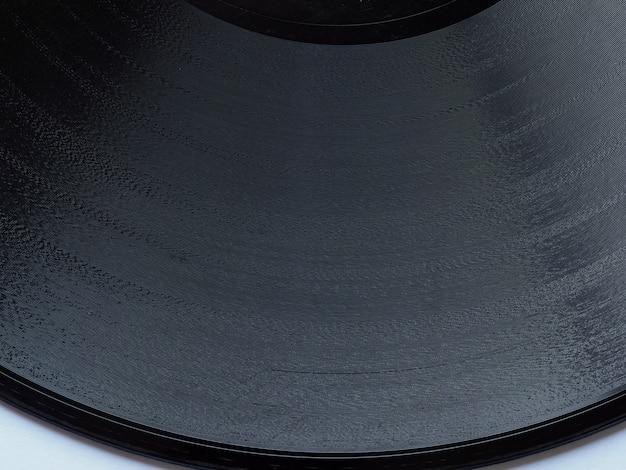 Détail du disque vinyle
