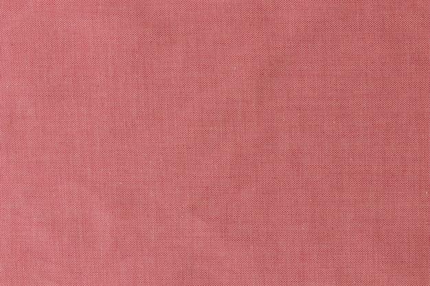 Détail du fond de texture de tissu rouge
