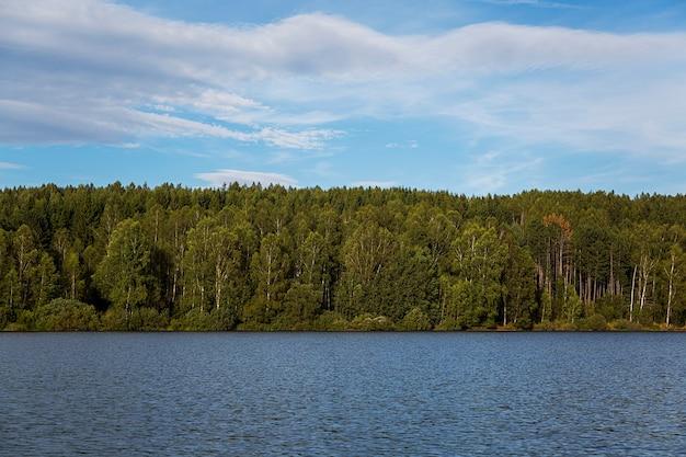 Détail du lac vlasina en serbie