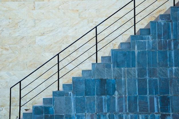 Détail des escaliers urbains
