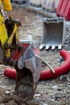 Détail des excavatrices
