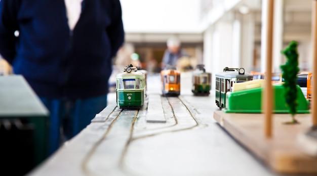 Détail des modèles de trains : concept de collection