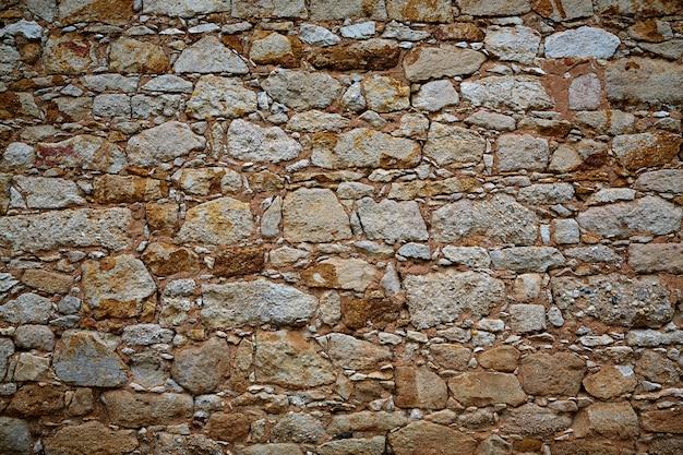 Détail de mur en pierre de zamora