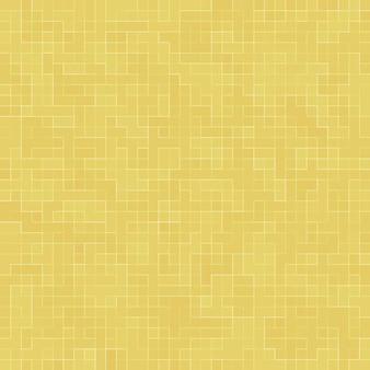 Détail de l'or jaune mosiac texture mosaïque en céramique abstraite ornée du bâtiment. modèle sans couture abstrait. pierres en céramique colorées abstraites.
