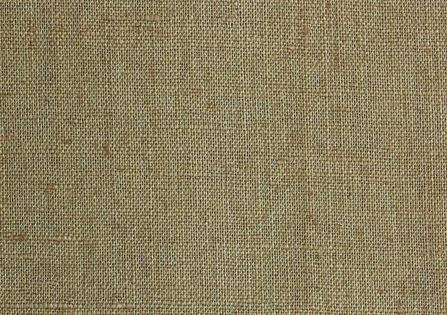 Détail de la texture de la toile de lin pour le fond