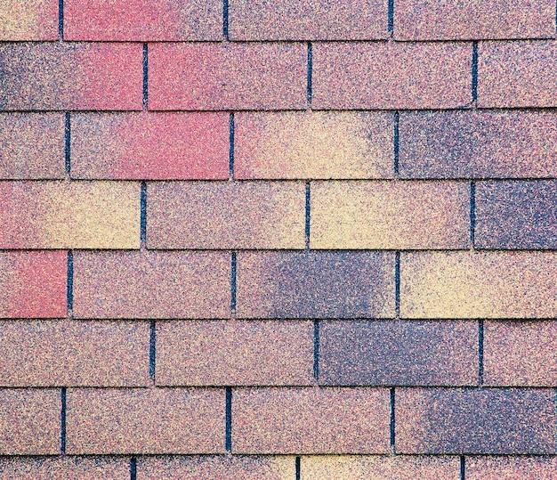 Détail de toit de bardeau de texture de toit