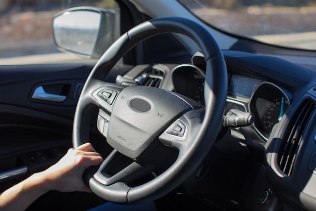 Détail de voiture ou concept de voiture