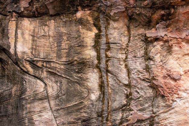 Détails du fond de texture de pierre de sable naturel
