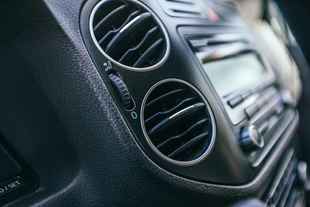 Détails intérieurs de voiture