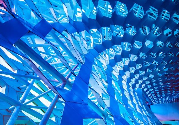 Détails de mur en verre