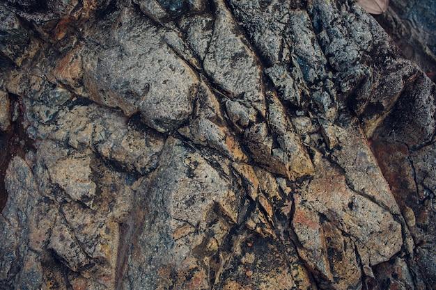 Détails de la texture de la pierre de sable