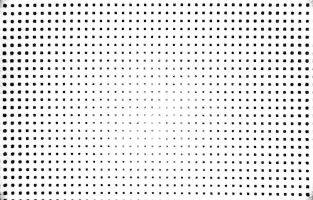 Détresse grunge noir et blanc. fond de texture de point. texture grunge en pointillés en demi-teintes.