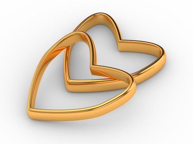Deux coeurs d'or