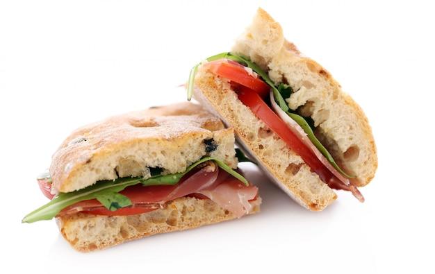 Deux délicieux sandwiches