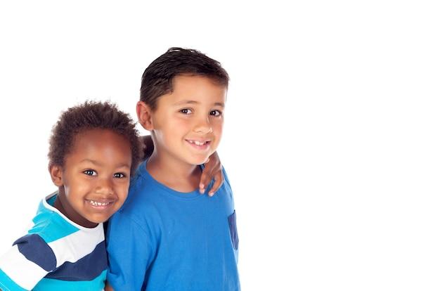 Deux frères heureux