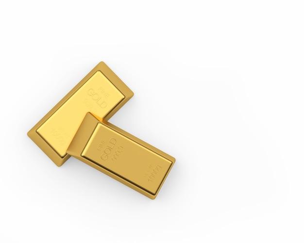 Deux lingots d'or