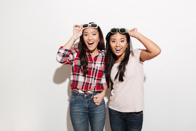 Deux soeurs asiatiques assez mignonnes