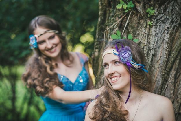Deux soeurs, jumeaux