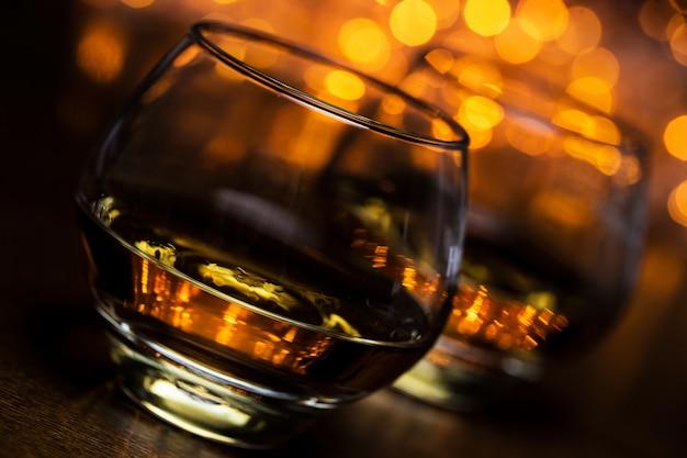 Deux verres de cognac