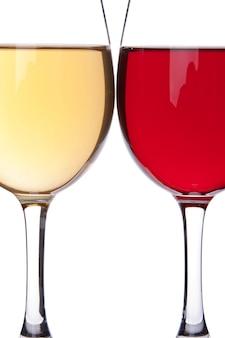 Deux verres à vin
