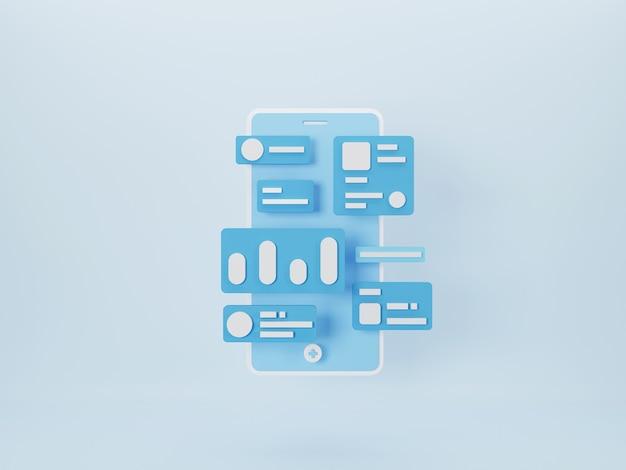 Développement d'applications mobiles et concept de conception de sites web mobiles
