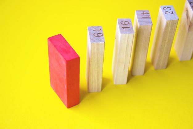 Développement personnel et croissance de carrière ou changement de concept concept de logique créative
