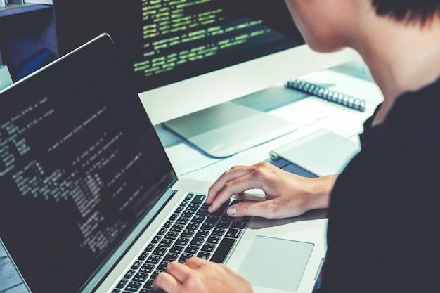 Développement de programmeurs pour le développement de technologies de conception et de codage de sites web