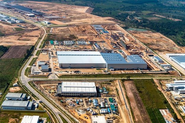 Développement de terrains industriels