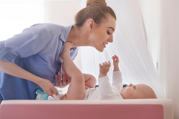 Le devoir quotidien de chaque mère