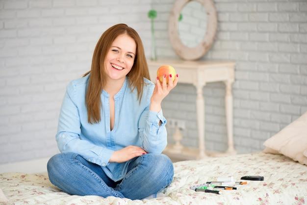 Diabète. concept de diabète. fournitures pour diabétiques à domicile. diabétique