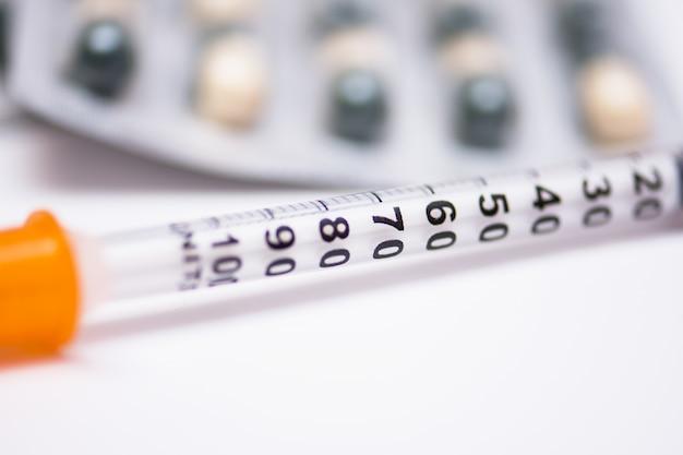 Diagnostic des hôpitaux mesure des macro pillules