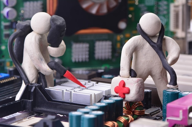 Diagnostic et réparation du système informatique
