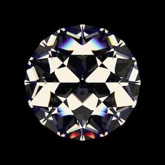 Diamant blanc brillant