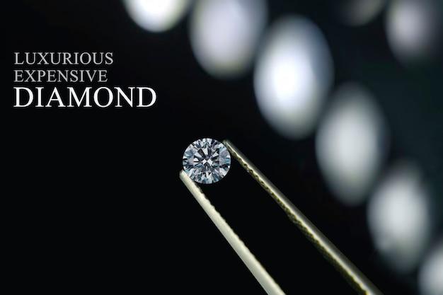 Les diamants sont précieux, chers et rares