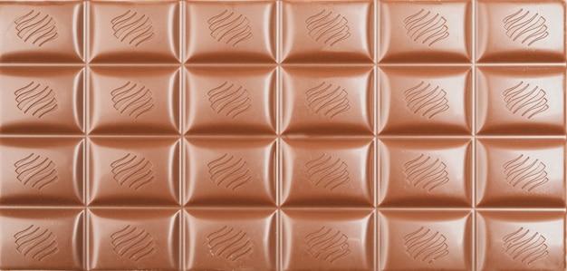 Différentes barres de chocolat dans leur ensemble. aliments sucrés