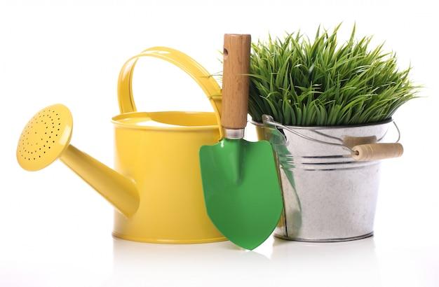 Différentes choses de jardinage