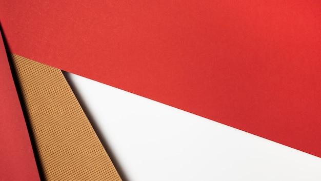 Différentes couleurs de dessin abstrait de papier