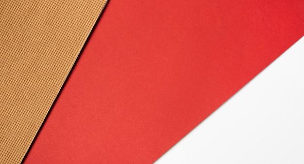 Différentes couleurs de papier