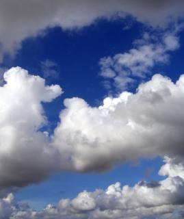 Différentes formations nuageuses