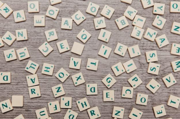 Différentes lettres