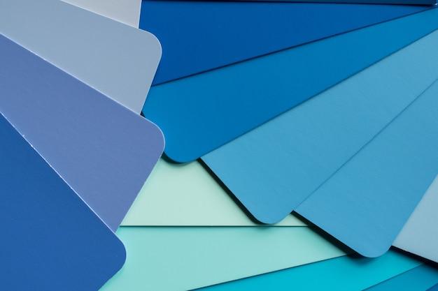 Différentes nuances de brun et de vert comme arrière-plan 3d illustration en rendu 3d d'un dossier avec pa