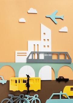 Différents modes de transports urbains