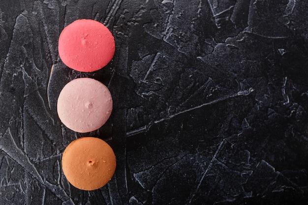 Différents types de macarons