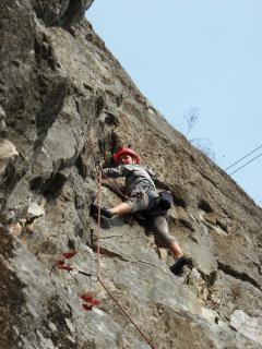 Difficile chemin vers le haut, le rock