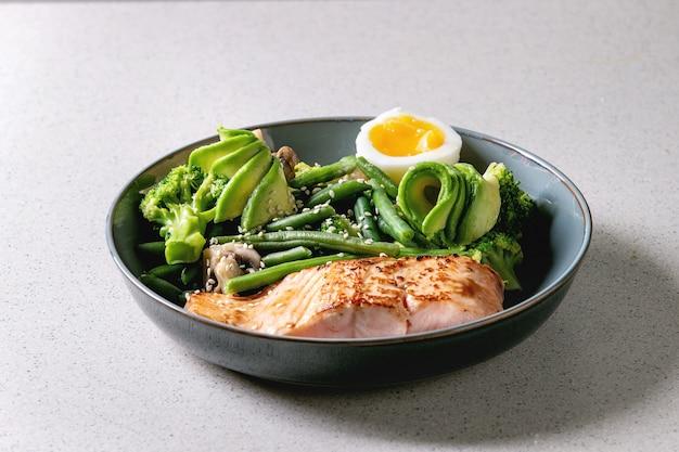 Dîner de régime cétogène