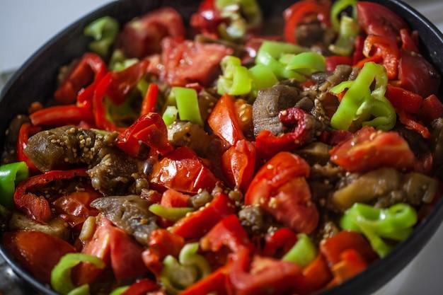 Dîner végétarien appétissant