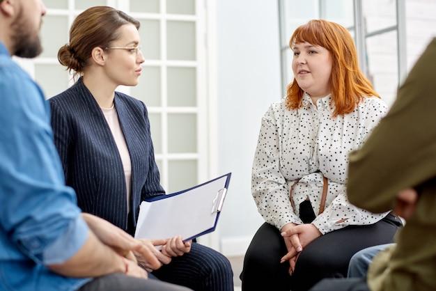 Diriger une séance de thérapie de groupe