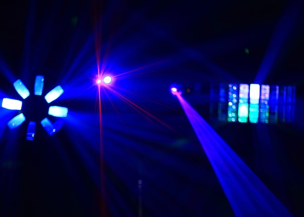 Disco. spectacle laser.